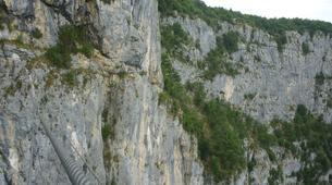 Via Ferrata-Chambéry-Via Ferrata of Jules Carret in the Bauges Massif near Chambery-6