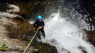 Canyoning-Ardeche-Canyon of Gorges du Haut Chassezac, Ardeche-4