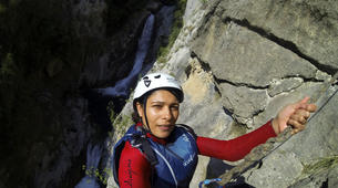 Canyoning-Omis-Extreme canyon of Cetina River in Omis, Dalmatia-4