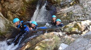 Canyoning-Ardeche-Canyon of Gorges du Haut Chassezac, Ardeche-1