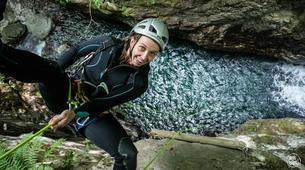 Canyoning-Ardeche-Canyon of Gorges du Haut Chassezac, Ardeche-2