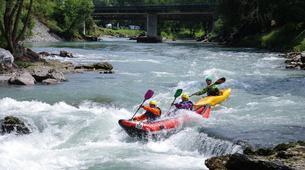 Canoë-kayak-Lourdes-Canoë Kayak dans la vallée des Gaves dans les Hautes-Pyrénées-1