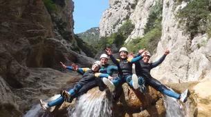 Canyoning-Prades-Canyon Sportif du Llech, près de Prades-4