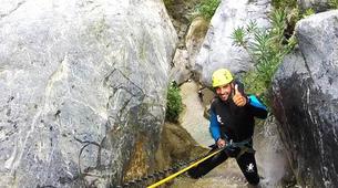 Canyoning-Cordoba-Initiation canyon Genilla in Priego de Cordoba-1