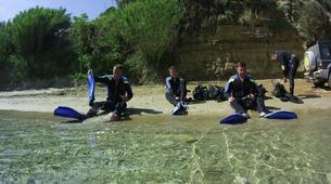 Scuba Diving-Zakynthos (Zante)-Guided adventure dives in Zante, Greece-1