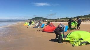 Kitesurf-Normandie-Cours de kitesurf à Cabourg-1