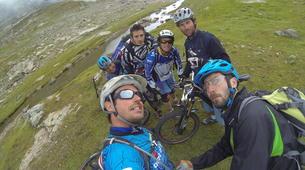 Vélo de Descente-Alpe d'Huez Grand Domaine-Stage de VTT de Descente à l'Alpe d'Huez-4