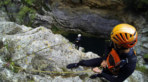 Canyoning-Omis-Extreme canyon of Cetina River in Omis, Dalmatia-2