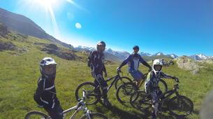 Vélo de Descente-Alpe d'Huez Grand Domaine-Stage de VTT de Descente à l'Alpe d'Huez-5