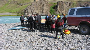 Rafting-Northwestern Region of Iceland-Extreme rafting down the East Glacial River, Northwestern Region of Iceland-3