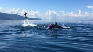 Flyboard / Hoverboard-Lac de Garde-Try flyboarding in Tignale, Lake Garda-4