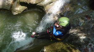 Canyoning-Annecy-Canyon Initiation de Montmin à Annecy-1