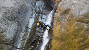 Canyoning-Céret-Canyon of Les Anelles in Ceret, near Costa Brava-6