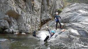 Canyoning-Ardeche-Canyon of Gorges du Haut Chassezac, Ardeche-6