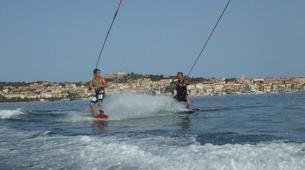 Wakeboard-Calvi-Session Wakeboard en bateau à Calvi-1