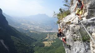 Via Ferrata-Chambéry-Via Ferrata of Jules Carret in the Bauges Massif near Chambery-2