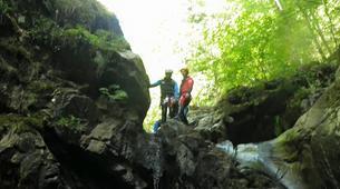 Canyoning-Aveyron-Discovery canyon Cornillou in Aveyron-5
