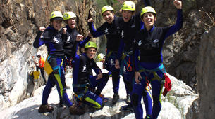 Canyoning-Cordoba-Initiation canyon Genilla in Priego de Cordoba-4