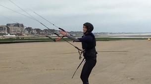 Kitesurf-Normandie-Cours de kitesurf à Cabourg-8