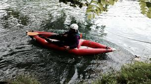 Canoë-kayak-Lourdes-Canoë Kayak dans la vallée des Gaves dans les Hautes-Pyrénées-6