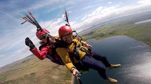 Paragliding-Reykjavik-Tandem paragliding flight over Reykjavík, Iceland-4
