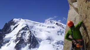 Rock climbing-Chamonix Mont-Blanc-Escalade dans le massif du Mont Blanc, Chamonix-2