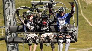 Mountain bike-Les Deux Alpes-Initiation au VTT de descente aux 2 Alpes-5