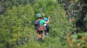 Zip-Lining-Ponga-Ziplining circuits in Ponga Natural Park-3