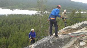 Abseiling-Hardangervidda National Park-Abseiling excursion in Dagali, Norway-1