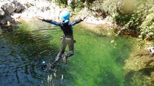 Canyoning-Ardèche-Canyoning dans les Gorges du Haut Chassezac, Ardèche-3