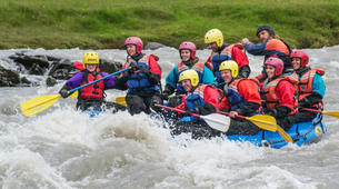 Rafting-West Glacial River-Rafting down the West Glacial River, Northwestern Region of Iceland-2