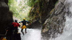 Canyoning-Lourdes-Canyon de Saugué à Lourdes-4