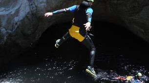 Canyoning-Céret-Canyon of Les Anelles in Ceret, near Costa Brava-4