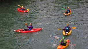Canoë-kayak-Lourdes-Canoë Kayak dans la vallée des Gaves dans les Hautes-Pyrénées-5