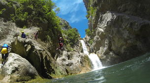 Canyoning-Omis-Cetina River Canyon in Omis-13