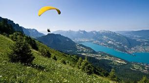 Paragliding-Annecy-Tandem paragliding flight over Annecy's Lake-1