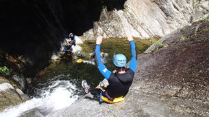 Canyoning-Céret-Canyon of Gorges du Mas Calsan, near Céret-5