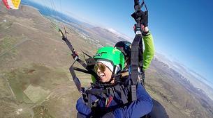Paragliding-Reykjavik-Tandem paragliding flight over Reykjavík, Iceland-5