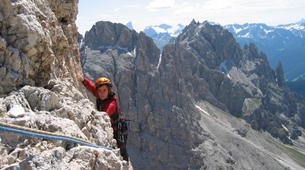 Rock climbing-Arco-Guided multi-pitch climbing near Arco, Lake Garda-4