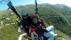 Paragliding-Ioannina-Tandem paragliding flight over Ioanina Lake, Greece-4