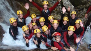 Canyoning-Arco-Canyon Rio Nero near Lake Garda-2