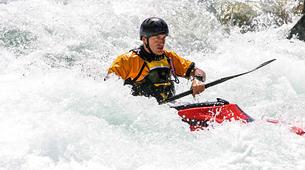 Canoë-kayak-Alagna Valsesia-Private kayaking lessons down Sesia River near Alagna Valsesia-2