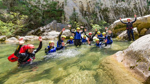 Canyoning-Split-Extreme canyon in Cetina River in Split, Croatia-4