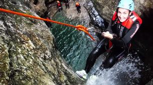 Canyoning-Arco-Canyon Rio Nero near Lake Garda-3