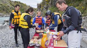 Rafting-Hanmer Springs-Canoe Raft down Waiau River in Hanmer Springs, New Zealand-5
