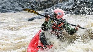 Canoë-kayak-Alagna Valsesia-Private kayaking lessons down Sesia River near Alagna Valsesia-6