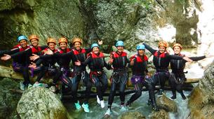 Canyoning-Arco-Canyon Rio Nero near Lake Garda-5