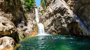 Canyoning-Split-Family friendly canyon in Cetina River in Split, Croatia-4