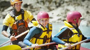 Rafting-Hanmer Springs-Rafting down the Waiau River in Hanmer Springs, New Zealand-3