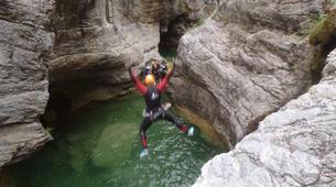 Canyoning-Lake Garda-Canyon Vione near Tignale, Lake Garda-2